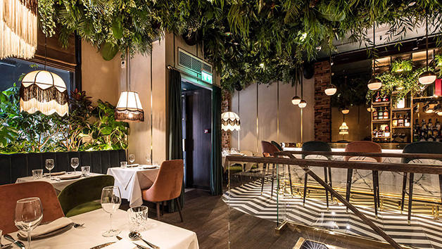Three Course Meal and Glass of Wine at Zuaya London for Two