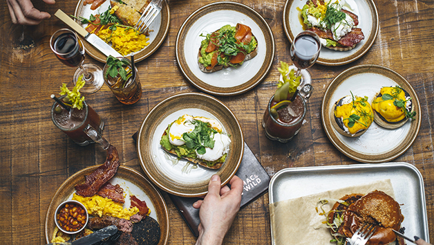 Brunch with Bottomless Cocktails at Mac & Wild for Two