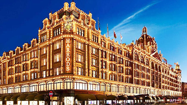 Afternoon Tea with a Glass of Champagne for Two at The Harrods Tea Rooms