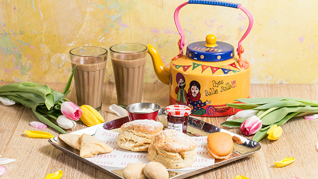 High Chai Afternoon Tea at Zindiya Streatery and Bar for Two