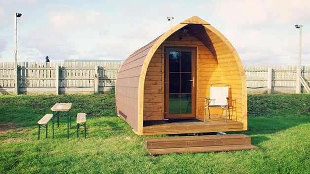 One Night Glamping Escape for Two at Plum Pudding Equestrian Centre