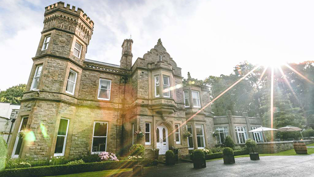 Romantic One Night Getaway and Dinner with a Bottle of Prosecco at Hollin House Hotel for Two
