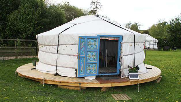 Two Night Summer Yurt Break for Two in Devon