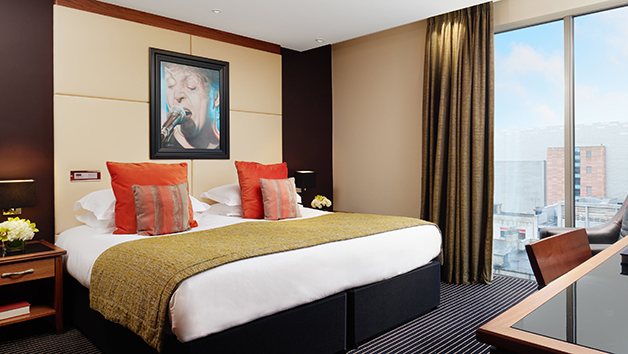 One Night Break and Dinner with Fizz at Hard Days Night Hotel for Two