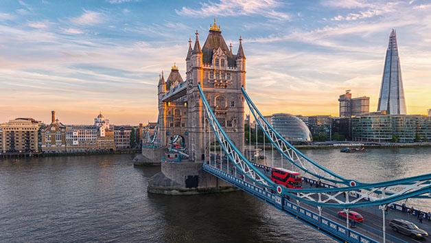 One Night 5 Star Getaway to London
