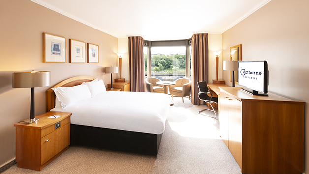 One Night Break and Dinner with Fizz for Two at Copthorne Hotel Newcastle