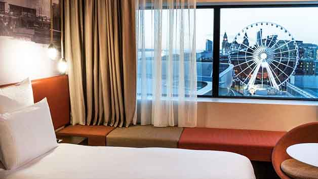 Overnight Break in a Superior King Room with River View and Fizz at Pullman Liverpool Hotel for Two