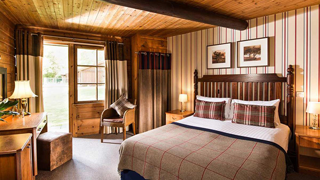 Two Night Getaway for Two in a Woodland Cabin Double at Chevin Country Park Hotel and Spa