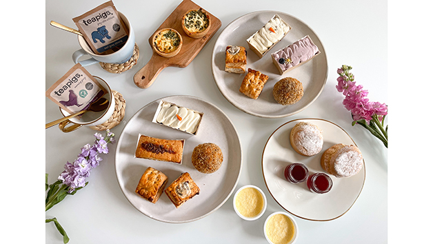 Traditional Afternoon Tea for Two at Home with Piglet's Pantry