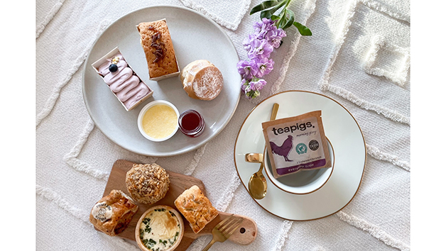 Afternoon Tea at Home with Piglet's Pantry for One