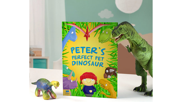 Personalised Dinosaur Book for Children