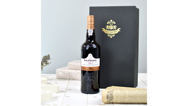 Graham's LBV Port With Newspaper in a Luxury Gift Box