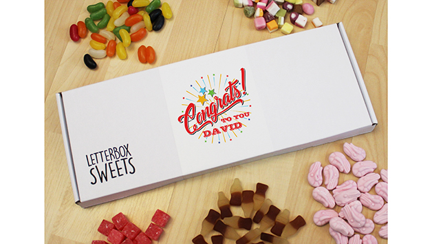 Congratulations Letterbox Sweets