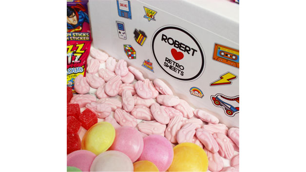 Retro Sweet Tuck Box – Large
