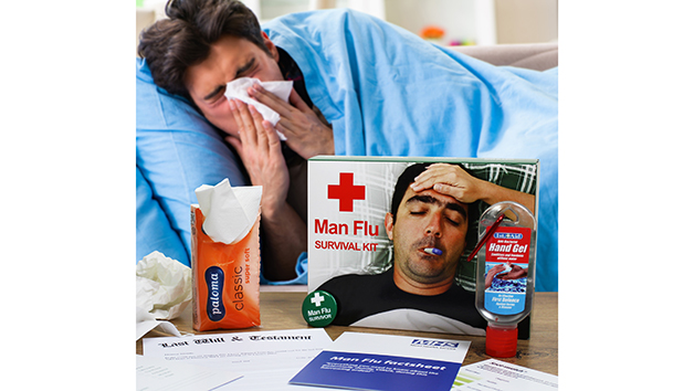 Survival Kit for Man Flu