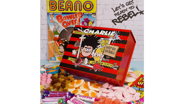 Personalised Beano Sweet Box