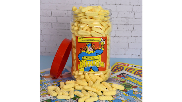 Bananaman Sweet Jar