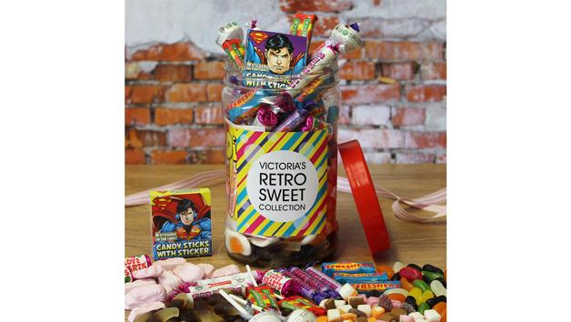 Retro Personalised Sweet Jar