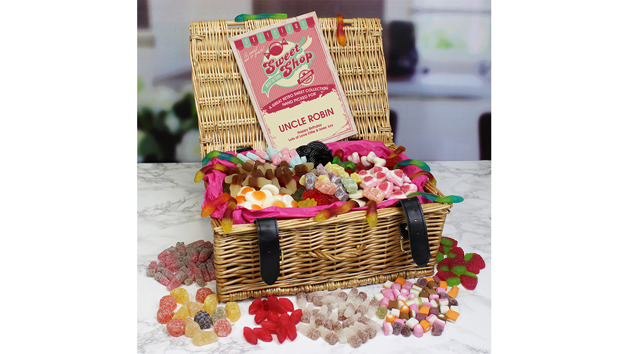 Gummy Delights Personalised Sweet Hamper