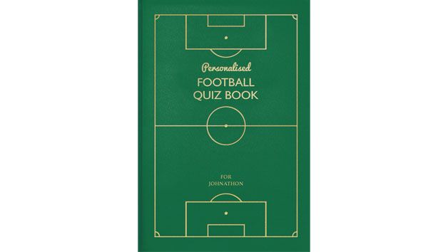Football Personalised Quiz Book