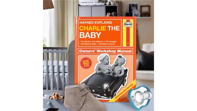 Haynes Explains The Baby Personalised Book