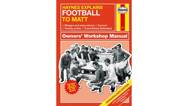 Haynes Explains Football Personalised Book