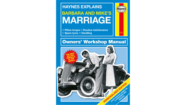 Haynes Explains Marriage Personalised Book
