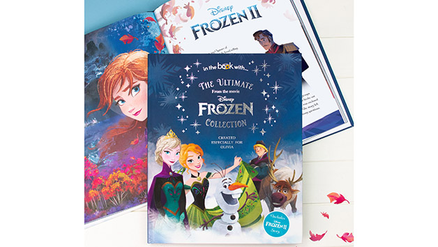 Personalised Disney Frozen Collection Book