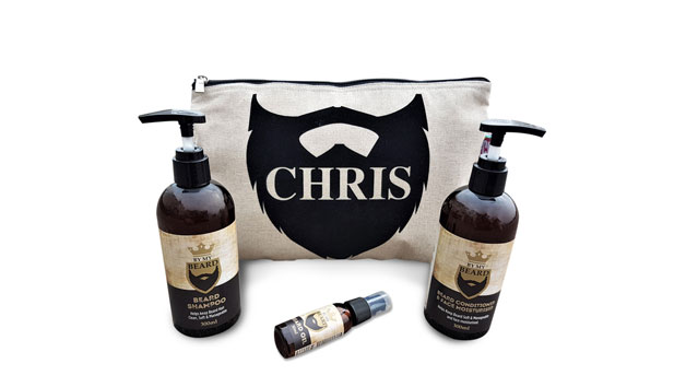 Personalised Beard Grooming Kit