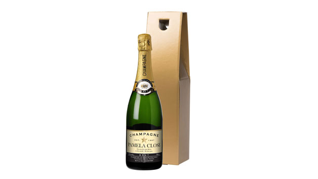 Personalised Authentic Star Champagne in Gold Gift Box