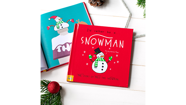 I'd Rather Be a Snowman Storybook With Personalisation