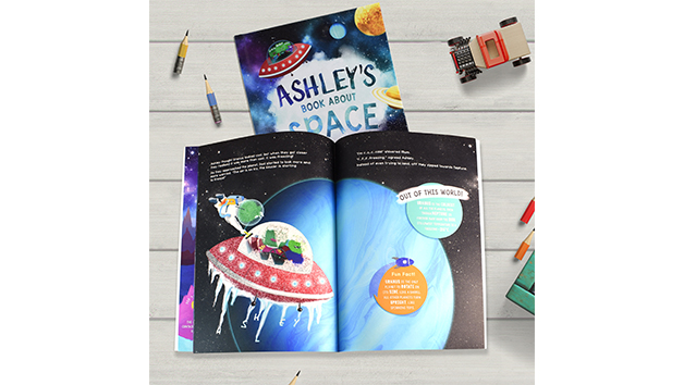 My Book About Space With Personalisation