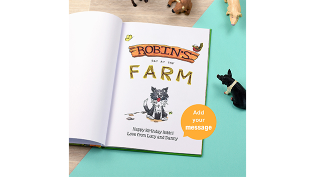 My Day at the Farm Storybook with Personalisation