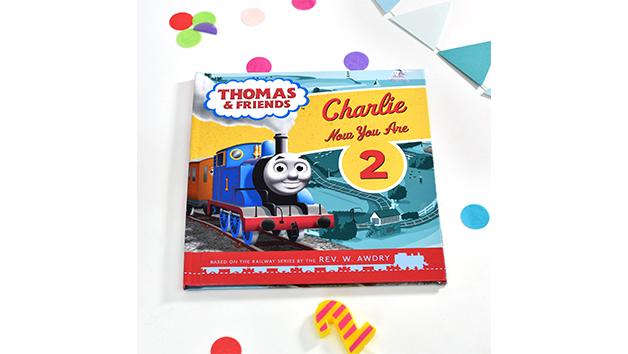 Thomas & Friends Personalised Birthday Book