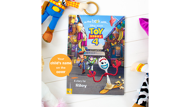 Personalised Toy Story 4 Storybook