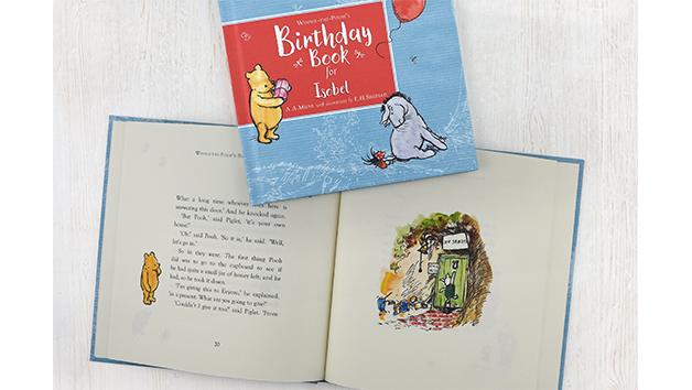 Winnie-the-Pooh's Personalised Birthday Book