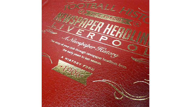 Liverpool Football Personalised Newspaper Book
