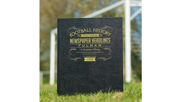 Fulham Football Newspaper Book