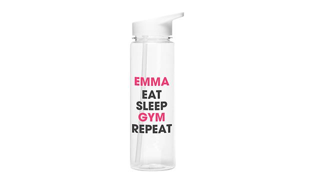 Eat Sleep Repeat Water Drinking Bottle