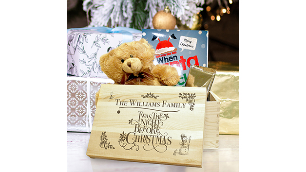 A Personalised Twas the Night Before Christmas Box