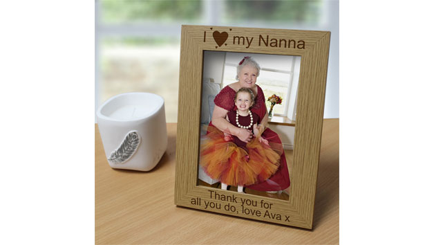 I Love My… Personalised Photo Frame