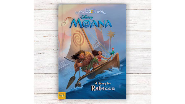 Personalised Disney Moana Story Book