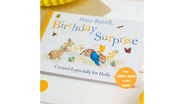 Peter Rabbit Personalised 'Birthday Surprise' Board Book