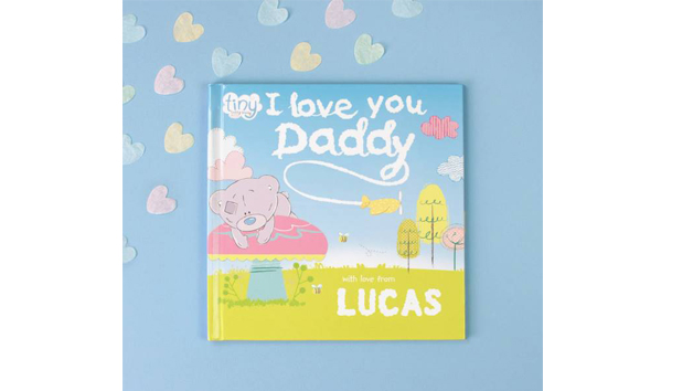 Tiny Tatty Teddy Personalised 'I Love You Daddy' Book