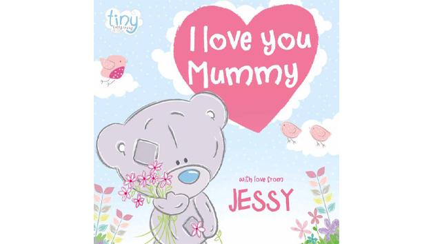 Tiny Tatty Teddy Personalised 'I Love You Mummy' Book