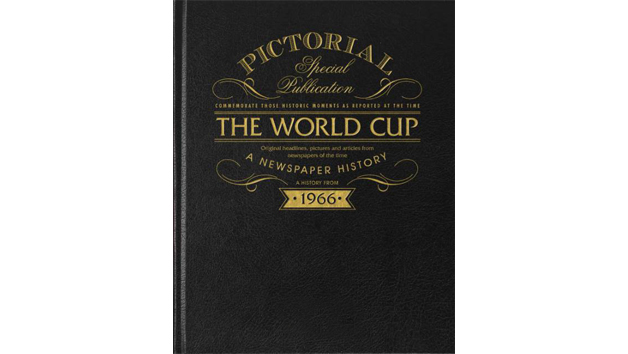 1966 Football World Cup Pictorial Edition Book