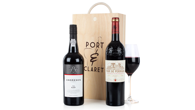 Port and Claret Gift Set