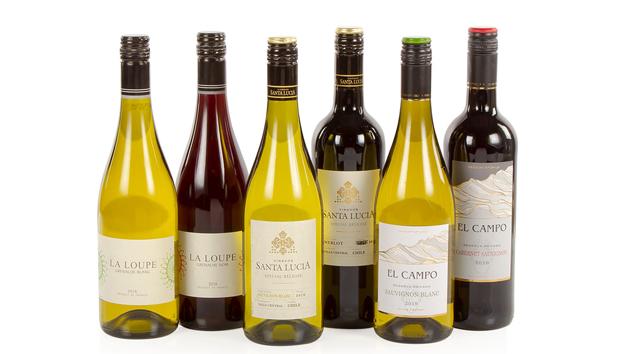 Six Wines In a Box Hamper
