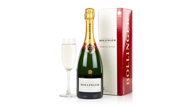 A Luxury Bottle of Bollinger