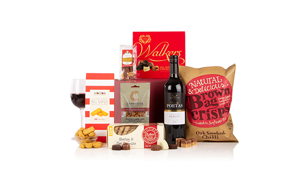 Box of Indulgence Food and Wine Hamper